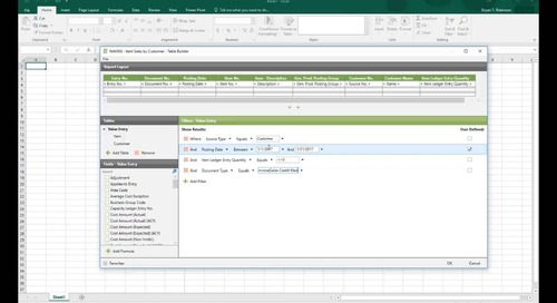 Modifying Pre-Built Reports in Jet Professional for Microsoft Dynamics NAV