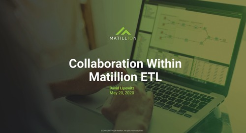 Tech Talk - Collaboration Within Matillion ETL