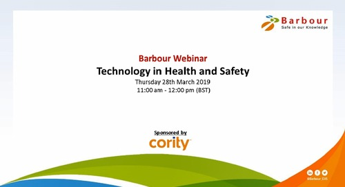 How Technology is Reshaping Health and Safety