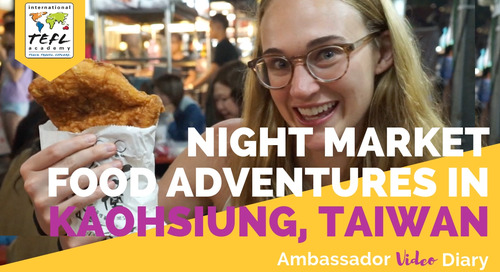 Night Market Food Adventures in Kaohsiung, Taiwan