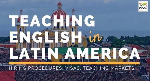 Teaching English in Latin America 2019