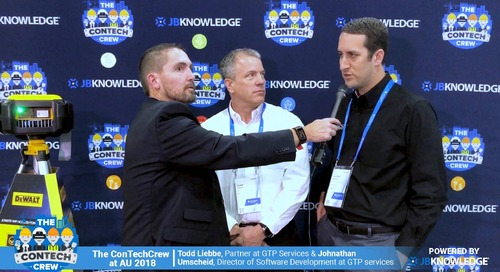 The ConTechCrew at AU 2018: Jeff Sample chats with Todd and Johnathan from GTP Services