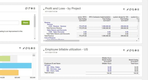 Sage Intacct for Project-Based Companies