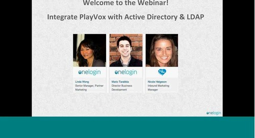 Integrate PlayVox with Active Directory & LDAP