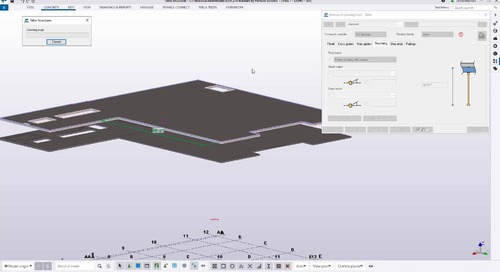 BIM Based Formwork Planning with Tekla Structures and Trimble Connect