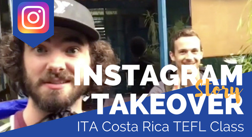 Day in the Life of our Costa Rica TEFL Class with Allen Coulter