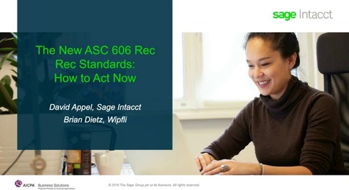 The New ASC 606 Rev Rec Standards How to Act Now