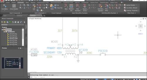 AutoCAD Electrical ツールセットの機能