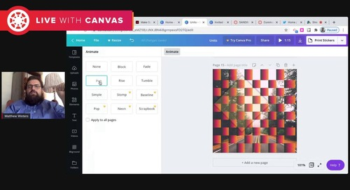 Creating Less Friction: Using Graphics to Create Meaningful Experiences for Students in Canvas