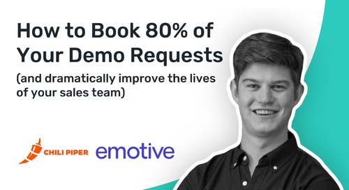 How Emotive Used Chili Piper to Achieve an 80% Inbound Conversion Rate