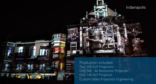 URBANSCREEN Outdoor Projection Mapping