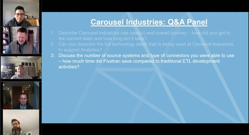 Customer Q&A Panel_ Building trusted data with reliable and scalable infrastructure