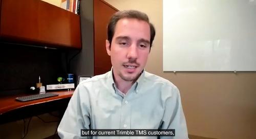 TMWSuite Expert Series, Ep.1: The Future of Trimble TMS