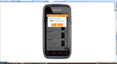 Mobile WMS for NAV and D365 Business Central from Tasklet Factory