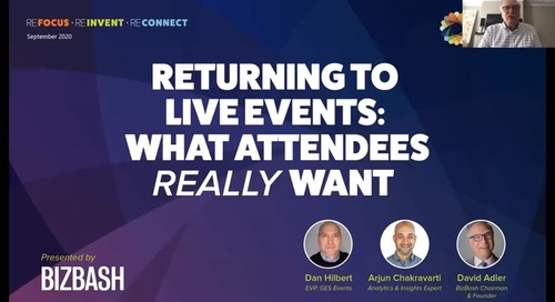 Returning to Live Events: What Attendees Really Want [Webinar]