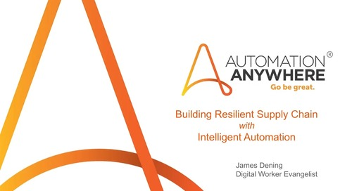 AUTOMATE TO BUILD RESILIENCY IN MANUFACTURING SUPPLY CHAIN (EN)