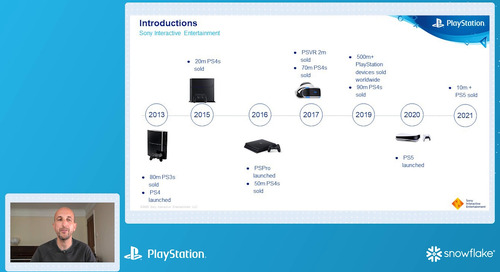 How Playstation scaled their data infrastructure to handle ever increasing data volumes