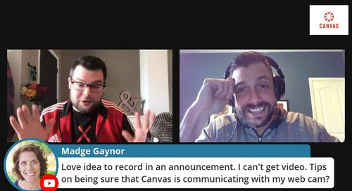 Using Canvas to Communicate With Students
