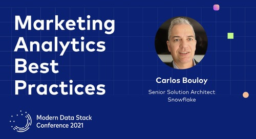 Marketing Analytics Best Practices to Improve the ROI of the Entire Data Stack