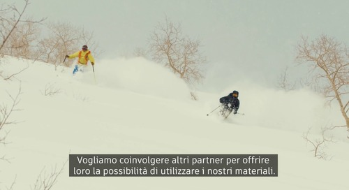 [Italian] Could Skis Created From Biobased Material Mean a Cleaner Future for Snow Sports