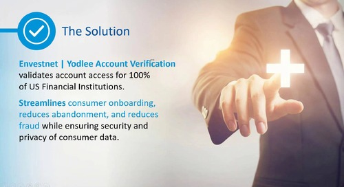 On-Demand Webinar: NACHA Account Validation Series