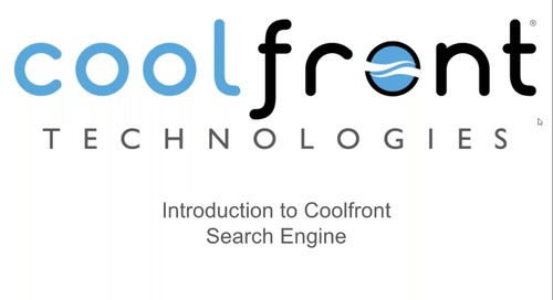 Coolfront Mobile Search Engine