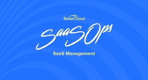 School of SaaSOps Guide to SaaS Management