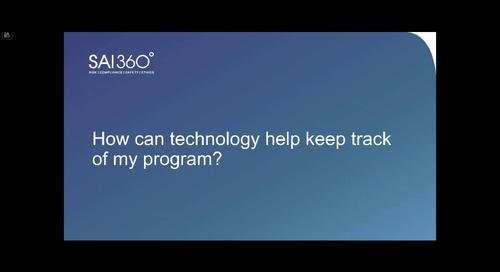 Tech in Action | From Planning to Resilience: The Role of Technology to Advance Your BCM Program