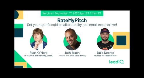 RateMyPitch 2020 - Part 1