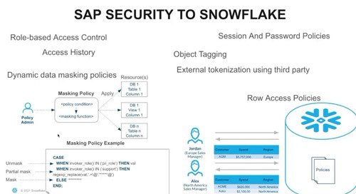 SAP to Snowflake: Security