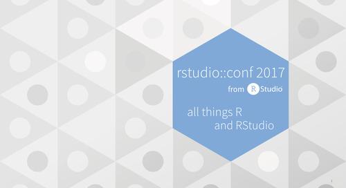 Push-Button Publish in RStudio Connect - Jeff Allen