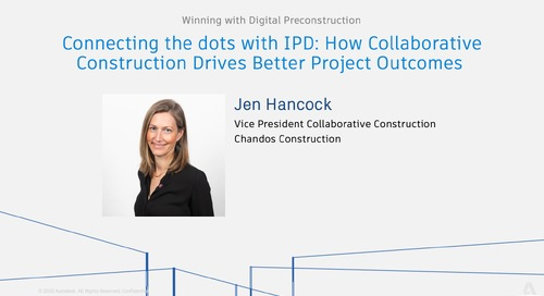 Connecting the dots with IPD: How Collaborative Construction Drives Better Project Outcomes