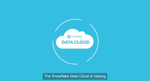 The Snowflake Data Marketplace for Financial Services