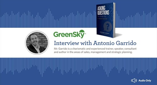 Asking Questions - Interview with Antonio Garrido of Sandler Sales Training