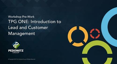 Lead Management Part 1 - Introduction