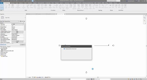 Saving a Revit file as a cloud model for Model Coordination