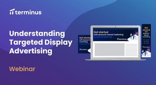 Understanding Target Display Advertising Webinar