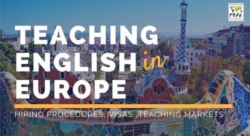 Teaching English in Europe 2019 [Webcast]