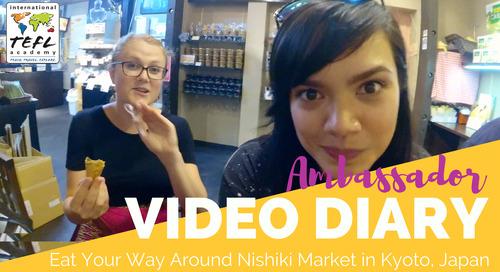 Eat Your Way Around Nishiki Market While Teaching English in Kyoto, Japan