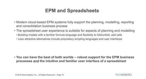 What CFOs Need to Know About EPM
