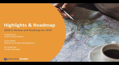 2018 Highlights and 2019 Roadmap Webinar