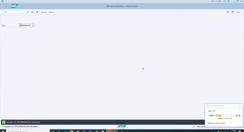 Automating a Procure-to-Pay (P2P) Process with Enterprise A2019, IQ Bot, and SAP