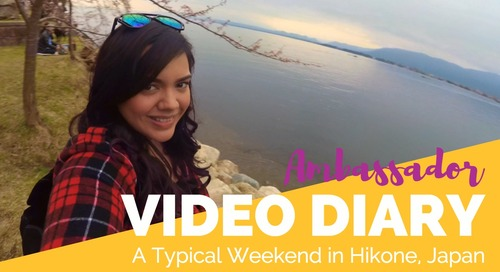 A Typical Weekend in Hikone, Japan