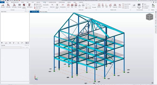 Key Features for Analysis and Design in Tekla Structural Designer