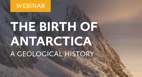 Webinar: The Birth of Antarctica: A Geological History with Dr Philip Wickens