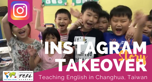 Day in the Life Teaching English in Changhua, Taiwan with Sandra Wagner
