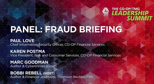 Fraud Briefing Panel - CO-OP Leadership Summit