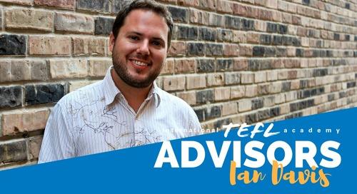 International TEFL Academy Advisor - Ian Kelly Davis