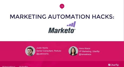 Marketing Automation Hacks: Marketo