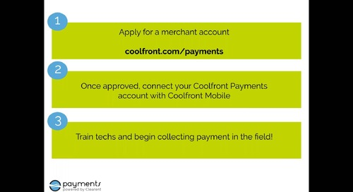 Get Paid Faster with Coolfront Payments